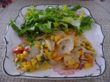 Fleischlos : Gemüse kunterbunt im Bräter aus dem Backofen - Rezept