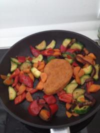 Blitzschnelle Gemüsepfanne - Rezept