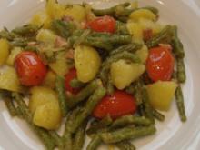 Kartoffel-Bohnen-Salat - Rezept