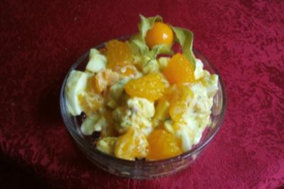 Eiersalat mit frechen Früchten - Rezept