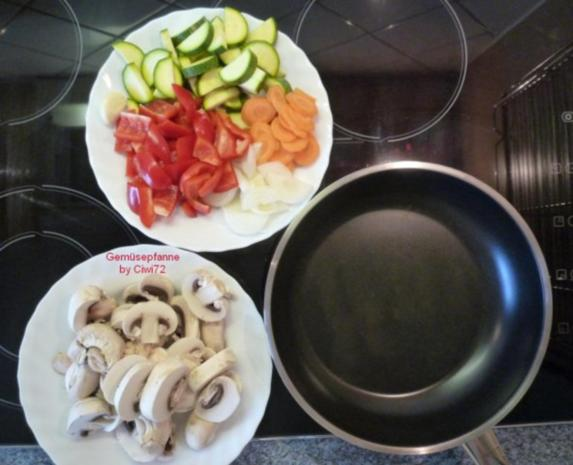 Gemüsepfanne - Rezept - Bild Nr. 3
