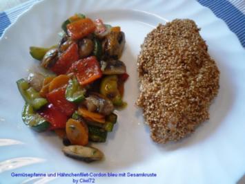 Rezept: Gemüsepfanne