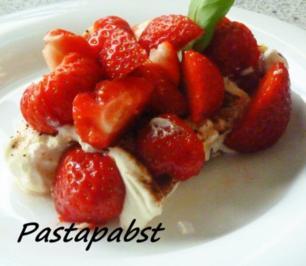 Cantuccini-Erdbeer-Tiramisu - Rezept