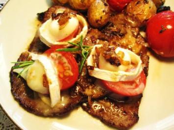 Rinder-Minuten-Steaks mediterran - Rezept