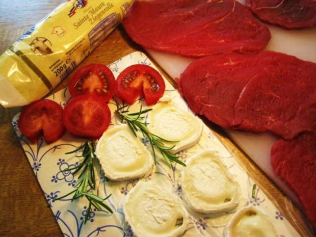 rinder steak braten