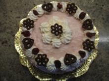 Backen: Dienstags-Torte mit Zwetschgen und ohne Backen - Rezept