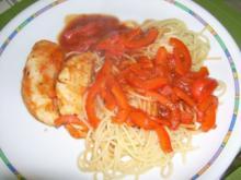 Hähnchenbrust in Tomatensoße - Rezept