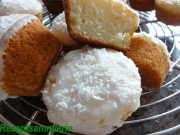 Muffin:   ZITRONEN-KOKOS-Geschmack - Rezept