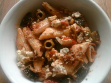 Nudelsalat Pesto-Trapperlione - Rezept