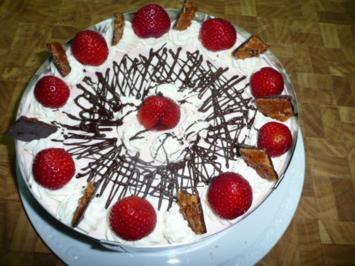Erdbeere- Philadelphia -Torte - Rezept