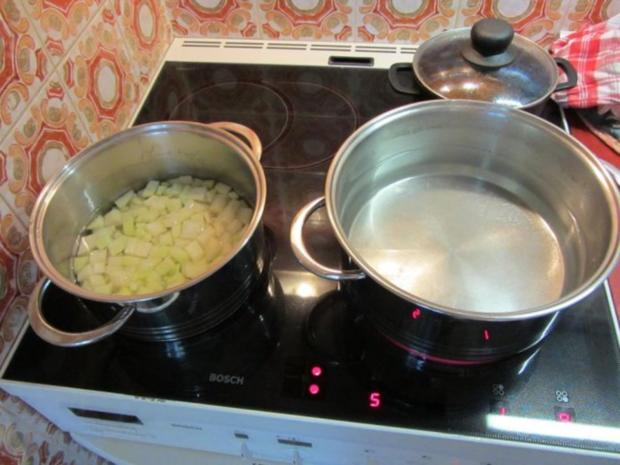 Gefüllte Kartoffelklöße mit Pfälzer – Leberwurst - Rezept - Bild Nr. 3