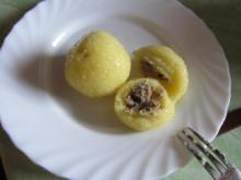 Gefüllte Kartoffelklöße mit Pfälzer – Leberwurst - Rezept