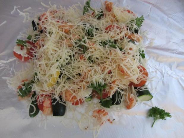 Gegrillte Mini – Zucchini mit Krebsfleisch - Rezept - Bild Nr. 9