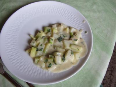 Zucchini – Kohlrabi – Gemüse - Rezept
