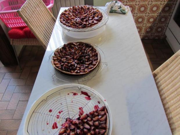 Hefe Kuchen mit Pflaumen - Rezept - Bild Nr. 11