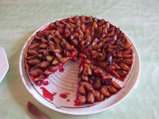 Hefe Kuchen mit Pflaumen - Rezept - Bild Nr. 12