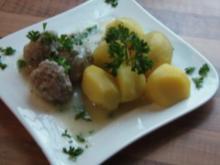Kochklops in Petersiliensoße - Rezept