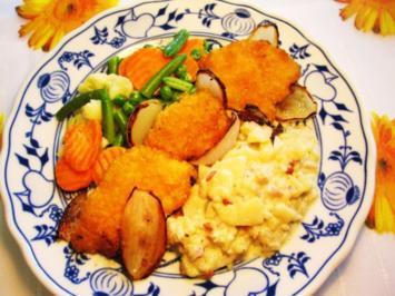 Chicken Chips mit Sommergemüse - Rezept