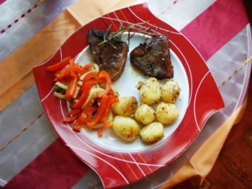 Gnocci mit Gemüse und Lamm - Rezept
