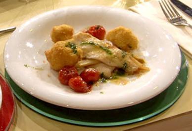 Scholle mit Gemüse und Kräutern (Team Frisch) - Rezept