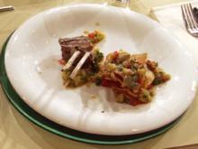 Lammkoteletts mit Salsa und gegrillten Salaten (Team Müll) - Rezept