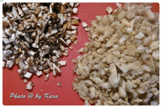 Knuspriges Schnitzel aus gemischten Pilzen - Rezept - Bild Nr. 3