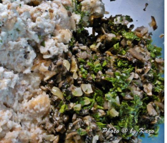 Knuspriges Schnitzel aus gemischten Pilzen - Rezept - Bild Nr. 8