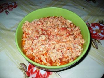 Tomaten-Rührei - Rezept