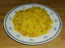 Curryreis mit Fleischwurst - Rezept