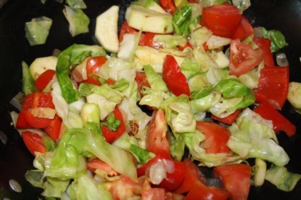Geräucherte Dorade auf dem Gemüsebett - Rezept - Bild Nr. 2