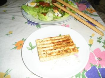 Bunter Salat mit Grilltofu - Rezept