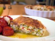 Pikante Porree-Apfel-Quiche - Rezept