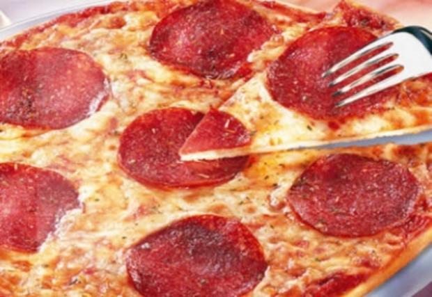 Pizza Salami - Rezept