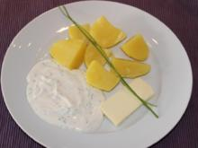 Kartoffeln mit Quark - Rezept