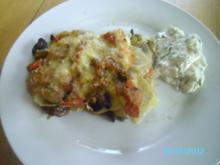 Kartoffelauflauf mit frischem Gemüse - Rezept