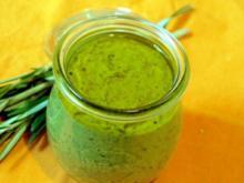 Pesto mit gerösteter Zucchini - Rezept