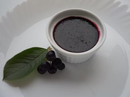 Aronia-Weintraubenmarmelade - Rezept
