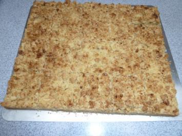 Apfelkuchen mit Streuseln und Walnüssen ruck-zuck - Rezept