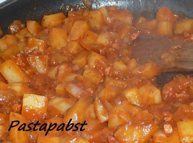 Mediterrane Kartoffeln mit Parmesan Lachs - Rezept - Bild Nr. 2