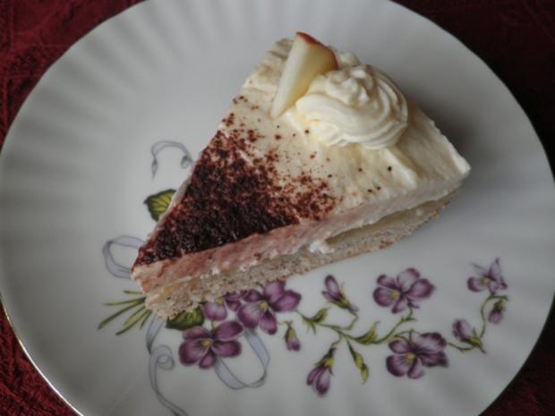 Kleine Apfel - Mascarpone - Torte - Rezept - Bild Nr. 13