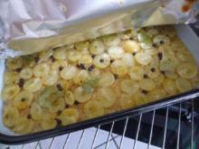 Gemüsebeilage : Trauben-Sauerkraut aus dem Backofen - Rezept