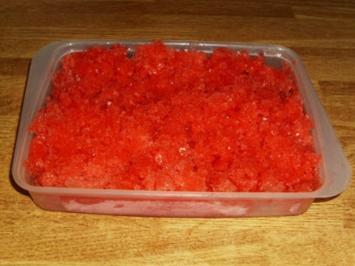 Wassermelonen Gratinè - Rezept