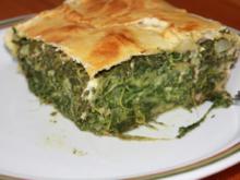 Börek mit Spinatfüllung - Rezept