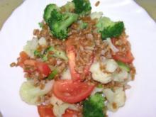 Dinkel-Gemüse-Pfanne - Rezept