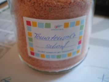 Gewürzmischungen: Tomatensalz - scharf und würzig - Rezept
