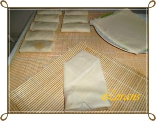 Chinesische Frühlingsrollen mit Hackfleisch - Rezept - Bild Nr. 18