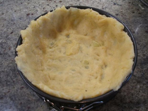 Fleisch: Hackfleisch-Torte mit Gemüse für 16er Tortenform - Rezept - Bild Nr. 7