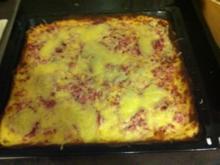 Bodenlose Pizza - Rezept