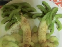 DESSERT: Palmen-Obst-Dessert - Rezept