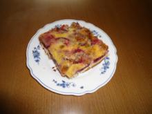 Zwetschgenkuchen mit Sahne - Rezept